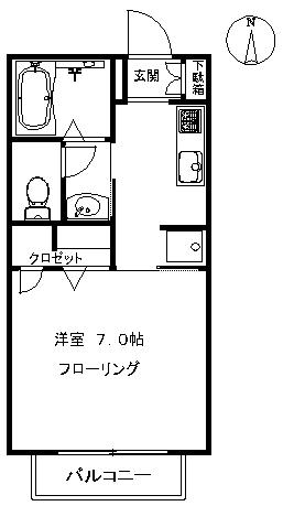 【アパート】メゾンデパルク107 (契約済み)