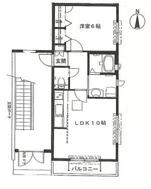 【アパート】パウロニア3 102