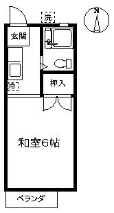 【アパート】メープルハイツ205