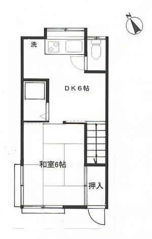 【アパート】フォーハイム201