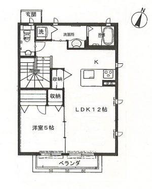【アパート】パウロニア66 202