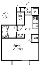 【アパート】メゾンドミルヴェール107( 契約済)