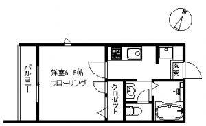 【マンション】パウロニア99 305(契約済み)