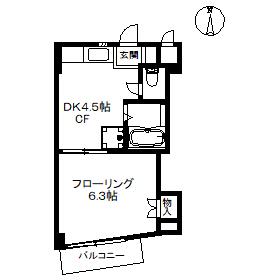 【マンション】T・Aハイム 203(契約済)