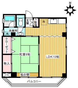【マンション】美義ビル301