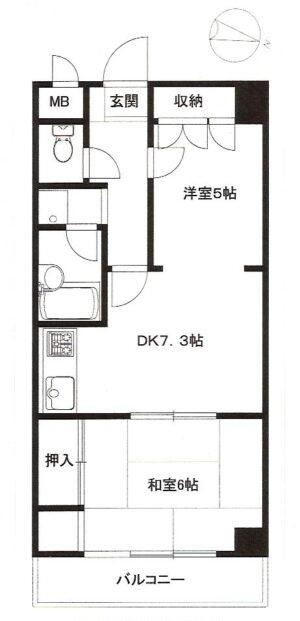 【マンション】タクシティハイツ西小山( 契約済)