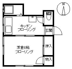 【アパート】ニューハウス(契約済み)