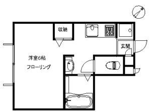 アパート メゾンドミルヴェール206