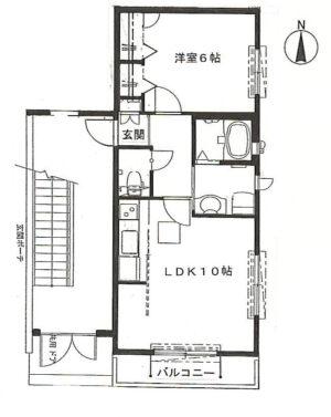 【アパート】パウロニア3 102(契約済み)