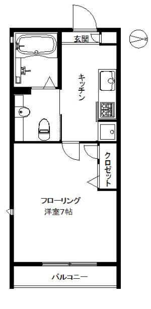 【マンション】パウロニア99 103(契約済)