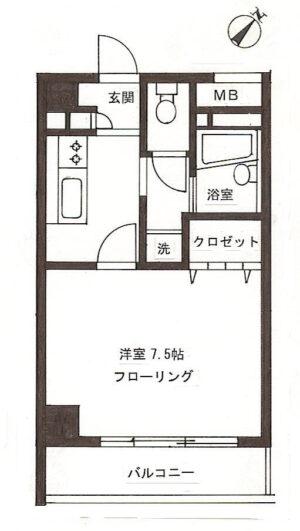 【マンション】チャペルヒル東大井
