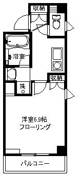 【マンション】クアドリフォリオ 304