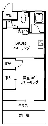 【アパート】戸田アパート105