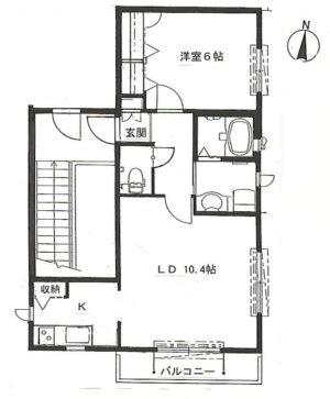 【アパート】 パウロニア3 202(契約済)